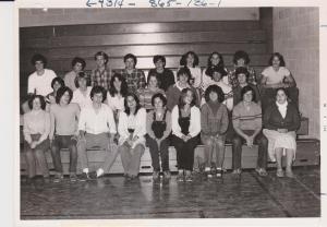 Homeroom Class 1979-80