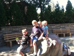 at the zoo w cousins 2