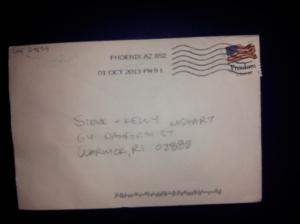 Coco envelope