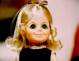 My Krissy doll, you could make her hair grow with the push of one button and shorten it with another; unless you have a sister who cut it off.
