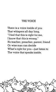 Shel Silverstein The Voic