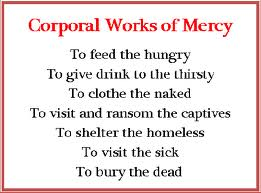 Corporal Works of Mercy | 365 Days of Thank You