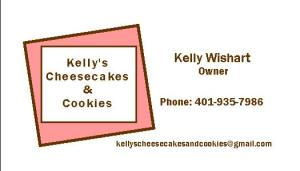 business card cookies